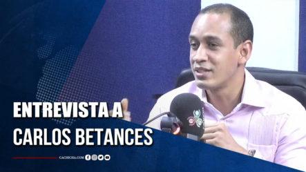 Carlos Betances Presenta Su Propuesta Al Pleno De Miembros De La Cámara De Cuentas