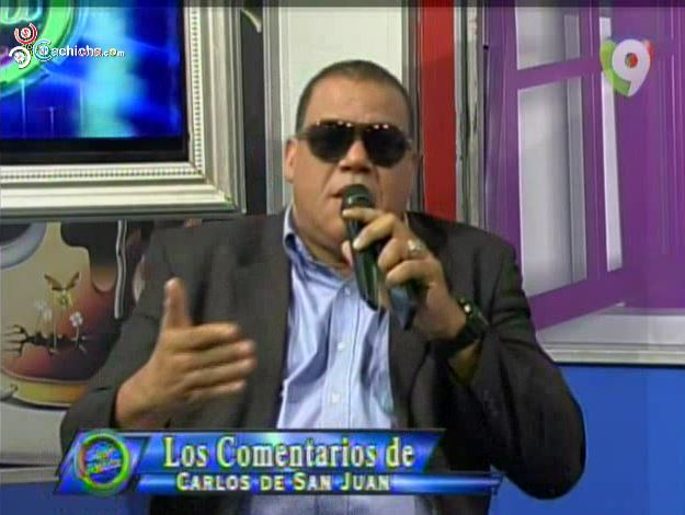 """Carlos De San Juan: """"Omega Le Tiene Miedo A Un Nuevo Mambero"""""""