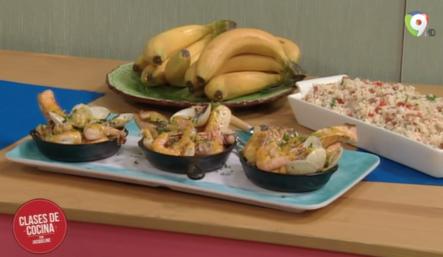 Como Preparar Pescados Y Mariscos Con Mantequilla Saborizada En Clases De Cocina