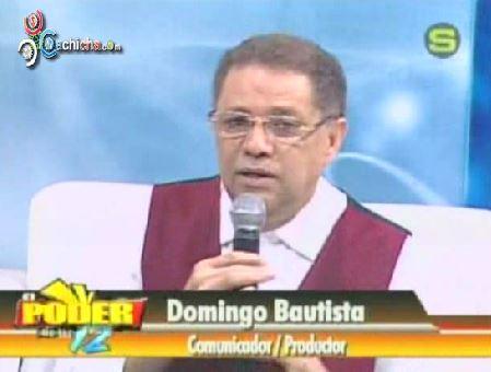 Conversando Con Domingo Bautista En El @Poderdelas12tv @FrankieRadio @Tobbytobby17