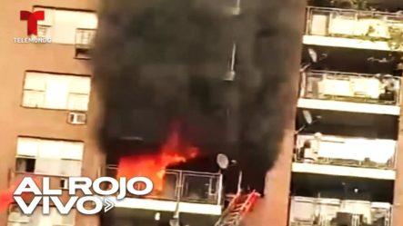 Niña Salta Desde Un Sexto Piso Para Salvarse De Un Incendio En Su Apartamento En El Bronx