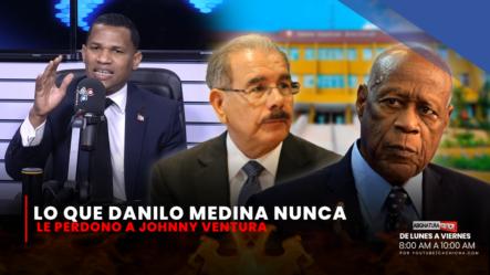 Lo Que Danilo Medina Nunca Le Perdonó A Johnny Ventura   Asignatura Política