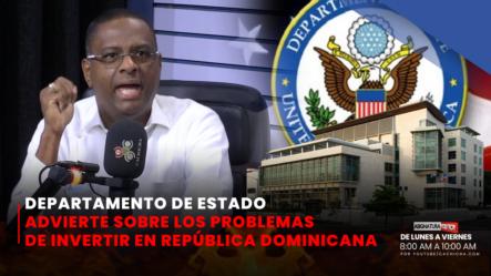 Lo último Del Departamento De Estado A La PGR   Asignatura Política