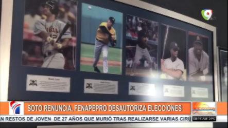 Mario Melvin Soto Renuncia Y FENAPEPRO Desautoriza Las Alegaciones