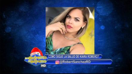 Robert Sánchez Comenta Sobre El Actual Estado De Salud De La Comunicadora Kiara Romero