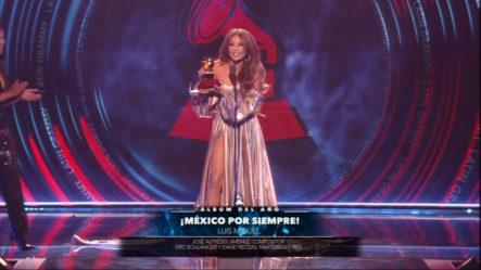 En Medio De ABUCHEOS Luis Miguel Gana A Mejor Álbum Del Año En Los Latin Grammy 2018