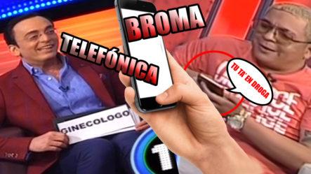 El Chuape Le Hace Tremenda Broma Telefónica A Un Amigo Y Chequea Cómo Terminó Esto
