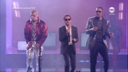 "Así Inician Los Latin Grammy: Marc Anthony, Will Smith, Bad Bunny ""Está Rico"""