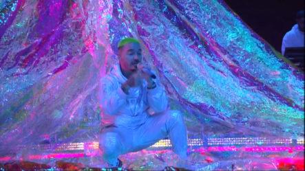 Presentación De J Balvin En Los Latin Grammy 2018