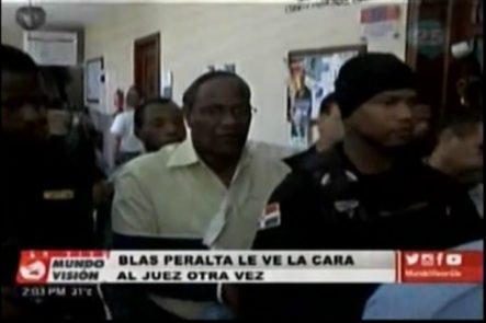 Blas Peralta Nuevamente Frente A Un Juez
