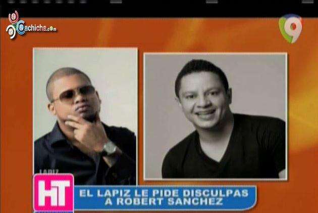 El Lápiz Consciente Pide Disculpas A Robert Sánchez #Video