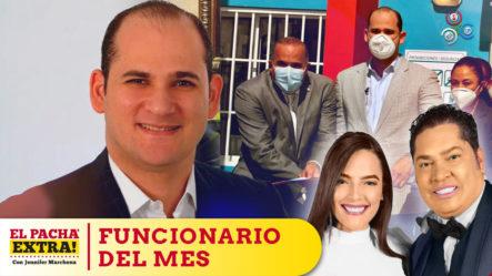 El Pachá Felicita A Fito Pérez Director De PROMESECAL Como Funcionario Del Mes De Septiembre | El Pachá Extra