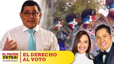 La Iniciativa De Alejandro Asmar, Los Militares Y Policías Tengan Derecho Al Voto | Pacha Extra