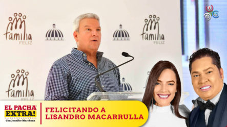 Felicitando A Lisandro Macarulla Por La Construcción De Casas A Maestros De Baní | Pacha Extra
