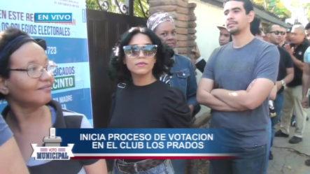 Luego De Dos Horas De Retraso Inicia El Proceso Electoral En Club Los Prados