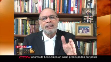 """""""Las Autoridades No Alientan Y Los Ciudadanos No Hacen Caso"""" Estas Fueron Las Palabras De El Comunicador Nelson Rodriguez."""