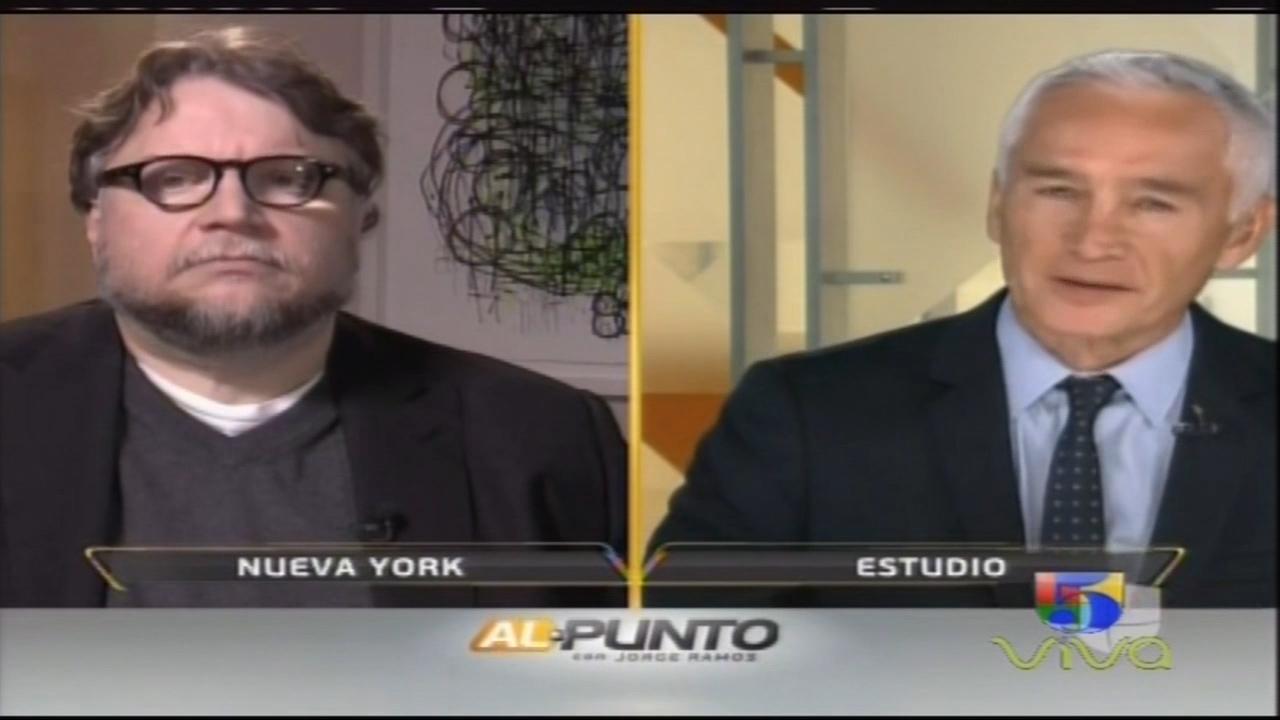 Entrevista Al Mejor Director (Globo De Oro) Guillermo Del Toro