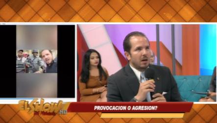 Entrevista Claudio Caamacho Sobre Video Que Se Hizo Viral  ¿Provocación O Agresión?