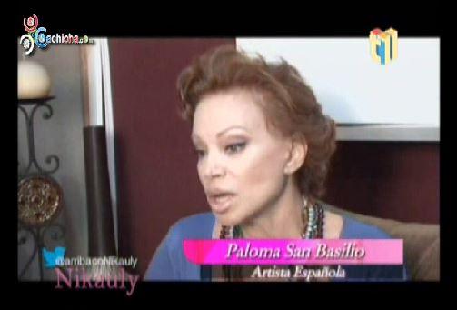 Entrevista A Paloma San Basilio En @ArribacoNikauly