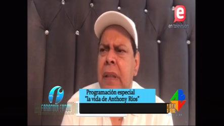 Emotiva Reacción De Fernando Villalona Pidiendo Dos Días De Duelo Por El Fallecimiento De Anthony Ríos