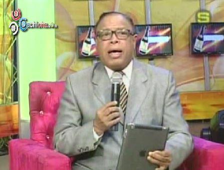 Joseph Cáceres Comenta Sobre Servicio 911 Y Reafirma La Crisis En Tv Y Radio Dominicana @JosephCaceres5