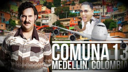Fernan Show Visita En Exclusiva La Tumba De Pablo Escobar En Medellín Colombia