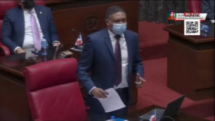 """Disgustos En El Senado Por Los Préstamos Tomados Por El PRM, Oposición Pide Al Gobierno """"trabajar"""""""