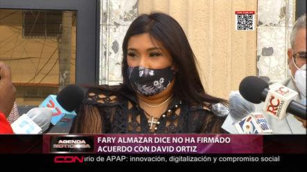 Ex Esposa De David Ortiz, Fary Almanzar Dice Que Este No Ha Firmado Acuerdo