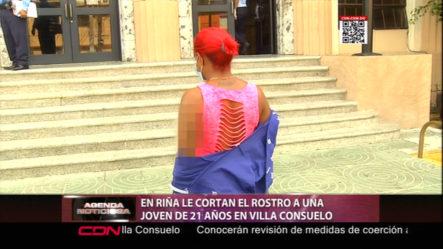Le Cortan El Rostro A Esta Joven En Villa Consuelo
