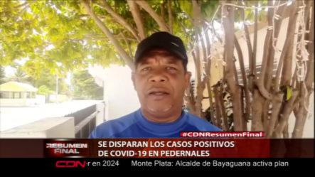 Se Disparan Los Casos Positivos De COVID-19 En Perdernales