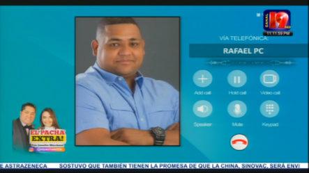 El Pachá Conversa Con El Alcalde De San Pedro De Macorís Rafael PC