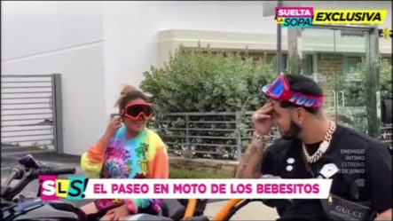 """Anuel Y Karol G Dando La """"PAMPARA"""" En Miami Andando En Motores"""