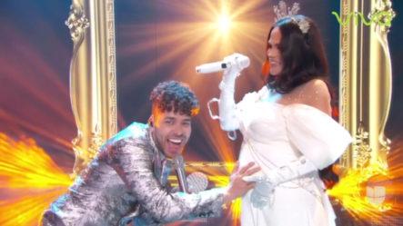 Presentación Musical De Natti Natasha Y Prince Royce En Premios Lo Nuestro