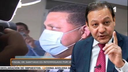 Fiscal De Santiago Es Interrogado Por Una Hora En El PEPCA Por Allanamiento A Casa De Abel