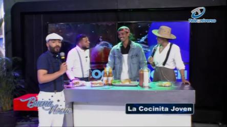 """Joven Emprendedor De La Cocina Hace """"el Mejor Cocinita Joven"""" De La Historia  Buena Noche"""