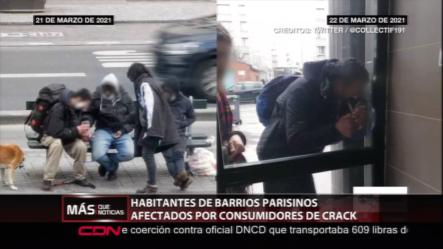 Habitantes De París Piden Ayuda Por Tantos Drogadictos Que Habitan Sus Calles