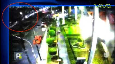 *VIDEO* Momento En Que Colapsa Tren En México