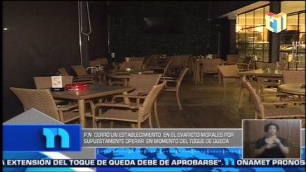 Cierran Restaurante Que Operaba En Pleno Toque De Queda