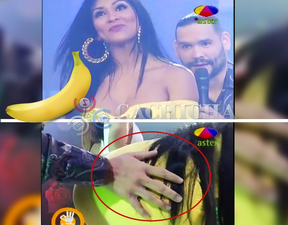 """Masa Chequea Sí """"El Guineo"""" De Su Presentadora Está Duro!"""