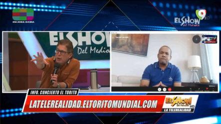 Héctor Acosta Da Detalles De Lo Que Será Espectáculo Vía Streaming Y Lo Que Piensa Hacer En La Senaduría