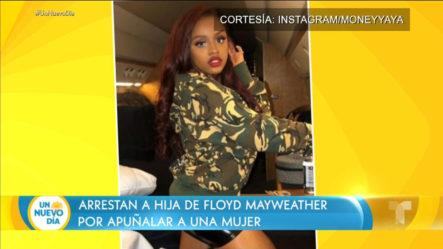Arrestan A Hija De Mayweather Por Apuñalar Una Mujer