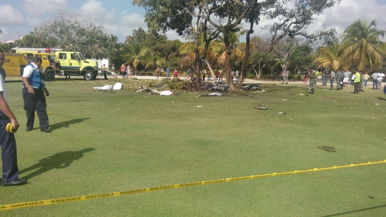 Se Estrella Avioneta En Bávaro Con 7 Personas A Bordo, Todos Murieron
