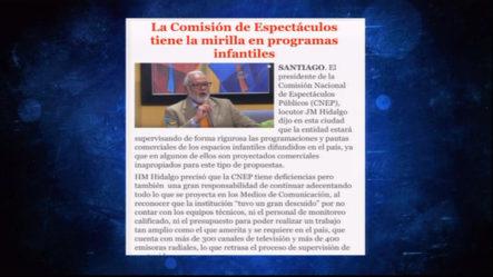 Robert Sánchez En CQC: No Sólo A Los Exponentes Urbanos, Comisión De Espectáculos Públicos Le Está Dando Seguimiento A Los Programas Infantiles