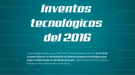 Inventos Tecnológicos De 2016