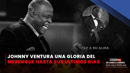 Johnny Ventura Una Gloria Del Merengue Hasta Sus últimos Días   Asignatura Política