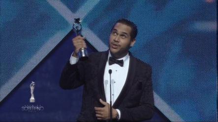 Juan Carlos Pichardo Jr Ganador De Comediante Del Año En Premios Soberano 2018