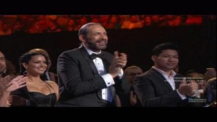 Homenaje Y Reconocimiento A Juan Luis Guerra En Premios Latin Billboards
