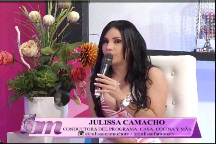 Entrevista A La Presentadora Julissa Camacho Con Mía Cepeda #Video
