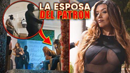 LLEGA LA ESPOSA DEL PATRÓN A LA PELUQUERÍA