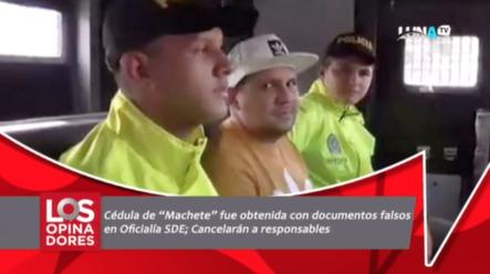 "La Cédula De ""Machete"" Fue Obtenida Con Documentos Falsos En Oficialía SDE; Cancelarán A Responsables"